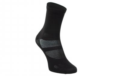 NEATT Paire de Chaussettes Hautes Noir / Jaune