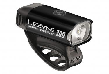 Eclairage avant lezyne new led mini drive 300 xl noir