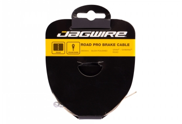 Cable de frein route jagwire road pro slick polished 2m sram shimano