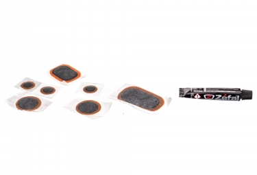 Zefal Repair Kit 7 Patches + 2 leve per pneumatici