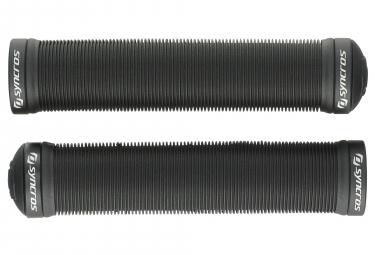 Paire de Grips Syncros Pro DH Dual Lock Noir