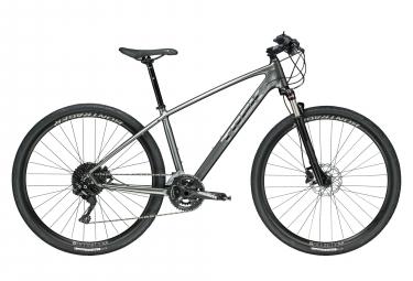 Trek Dual Sport 4 Hybrid Bike Gris