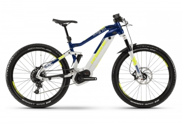 Haibike Sduro Fullseven Life 7.0 500Wh Electric Full Suspension 27.5'' Sram NX 11S Grey/Blue 2019