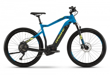 Haibike Hybrid Touring Sduro Cross 9.0 27.5'' Shimano XT 11S Blue/Yellow 2019