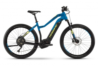 Haibike Hybrid Women Touring Sduro Cross 9.0 27.5'' Shimano XT 11S Blue/Yellow 2019