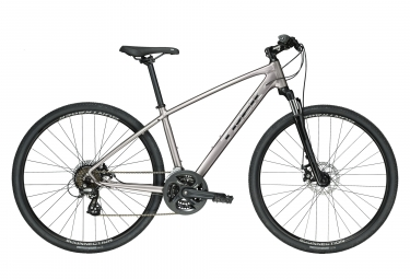 Trek Dual Sport 1 Hybrid Bike Gris