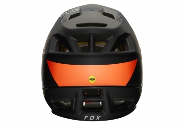 Casco Integral Fox ProFrame Gothik Noir / Orange