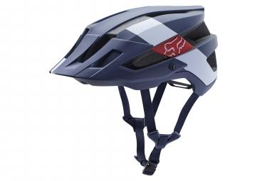Fox Helm Flux Wide Open Limited Edition Navy / Weiß