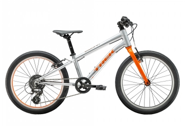 Trek Wahoo 20 Kids Bike 20'' Argent / Orange