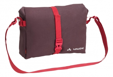 Sacoche de guidon vaude shopair box rouge bordeau