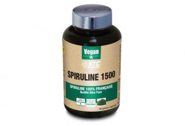 STC Nutrition - Spiruline 1500 Vegan - 90 cápsulas
