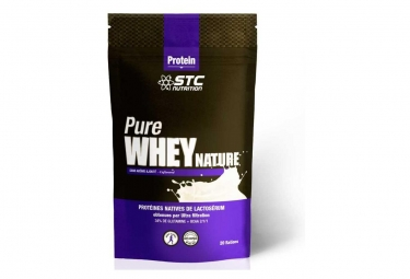 Boisson proteinee stc nutrition pure whey doypack de 500g nature