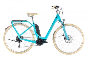 Velo de ville electrique 2018 cube elly ride hybrid 500 shimano 9v bleu 46 cm 155 17