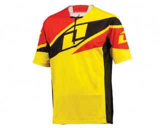 Maillot one industries ion 1 4 zip jaune l