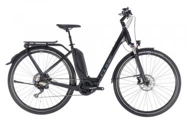 Velo de ville electrique 2018 cube touring hybrid exc 500 shimano xt 11v noir 46 cm