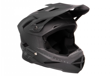 Casque integral fly racing default noir gris kid m 49 50 cm