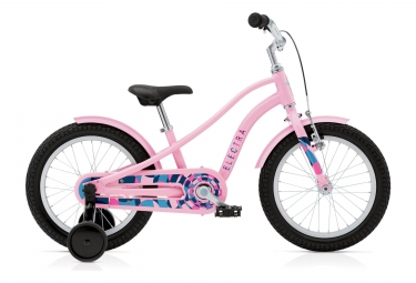Velo enfant electra sprocket 16 rose