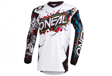 Maillot Manches Longues O'neal Element Villain Blanc