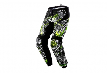 Oneal Element Pants Attack Black Hi Viz 40
