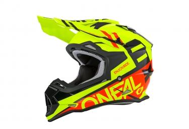 ONEAL 2SERIES RL Helmet SPYDE black/red/hi-viz XS