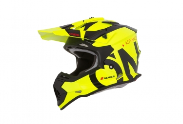 Casque integral enfant o neal 2series slick jaune fluo 49 50 cm