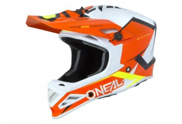Casque integral enfant o neal 8series blizzard orange 49 50 cm