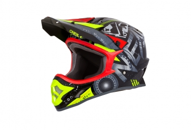 Casque integral o neal 3series helium rouge xxl 63 64 cm