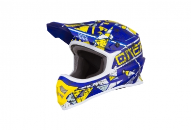 Casque integral 3series zen bleu xs 53 54 cm
