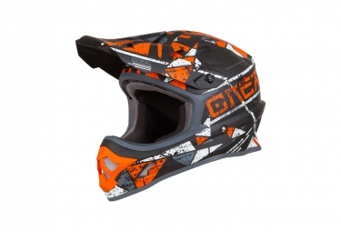 Casque integral 3series zen orange s 55 56 cm