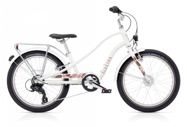Electra Sprocket 7D EQ Kids Bike 20'' Blanc