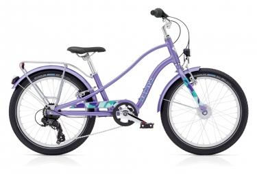 Vélo Enfant Electra Sprocket Shimano Tourney 7v 20'' Violet