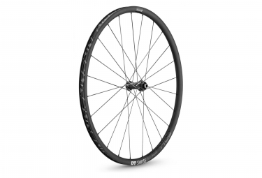 Roue avant dt swiss crc 1400 spline 24 disc 12x100mm 2019