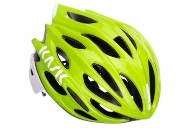 Casque kask mojito x vert blanc l 59 62 cm