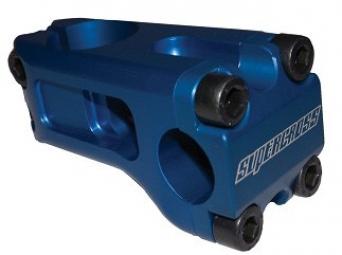 Potence supercross compoments 55mm blue