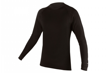 ENDURA Winter Jersey Black baabaa