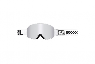 Máscara O'Neal B-50 Goggle Force silver white