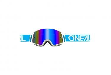 Goggles O'Neal B-20 Goggle Flat Radium blue