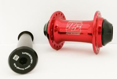 Moyeu avant Supercross Compoments Pro 20mm Front 36 Red