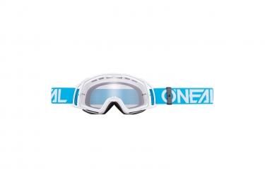 Masque O'Neal B-20 Goggle Flat Bleu / Blanc