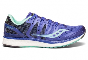 Saucony Women Running Shoes Liberty ISO Purple / Aqua