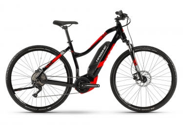 Haibike Sduro Cross 2.0 Womens E-Bike  Noir / Rouge