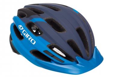 Casque giro register mat bleu 54 61 cm