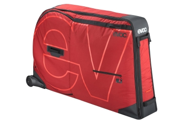 Sac de transport velo evoc bike travel bag 285 l rouge