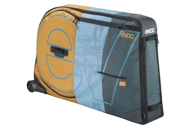 Sac de transport velo evoc bike travel bag 285 l bleu beige