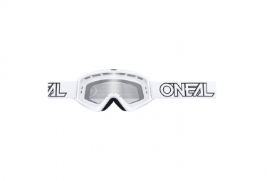 Set de 10 masques o neal b zero goggle blanc
