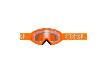 Goggles O'Neal B-Zero Goggle  clear orange