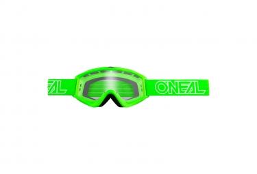 Set de 10 Masques O'Neal B-Zero Goggle Vert