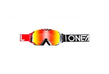 ONEAL B-30 Goggle DUPLEX black/red/white - radium