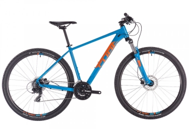 Cube Aim Pro Hardtail MTB 2019 29 '' Shimano Acera 8S Blau / Orange