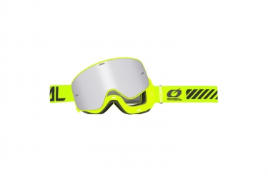 Máscara O'Neal B-50 Goggle Force hi-viz  silver yellow